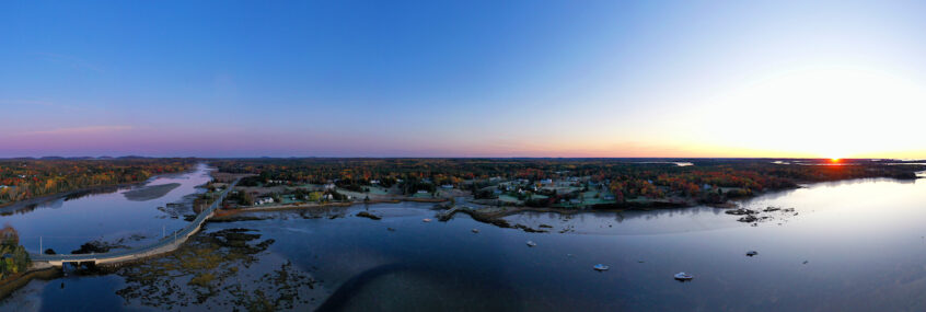 panorama of Milbridge